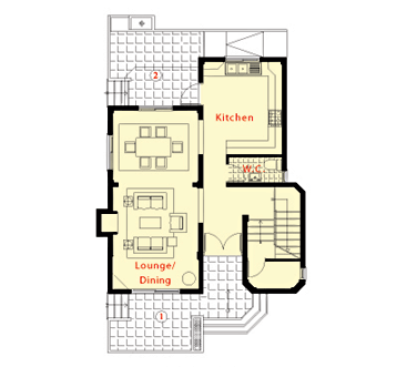 North Cyprus Villas : Peninsular Heights - Floor Plans