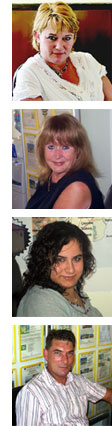 Meet the Busy Bees Team: Maria, Bev, Kim and Marcus
